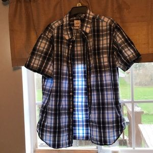 Gap Flannel casual button up shirt size M